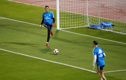 Sergio Ramos y Keylor Navas ya trabajan con el grupo