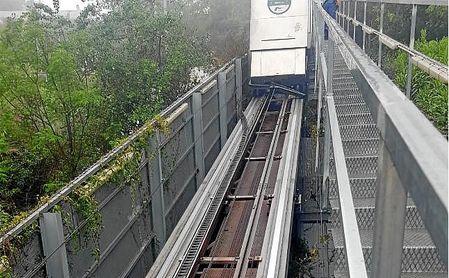 Ascensor del metro de San Juan.