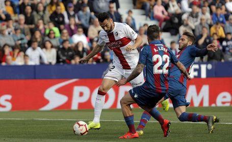 2-2. El Levante se complica el futuro y el Huesca no lo mejora