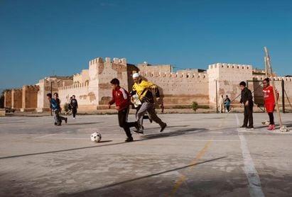 En el mundo árabe, las primaveras empiezan en un campo de fútbol