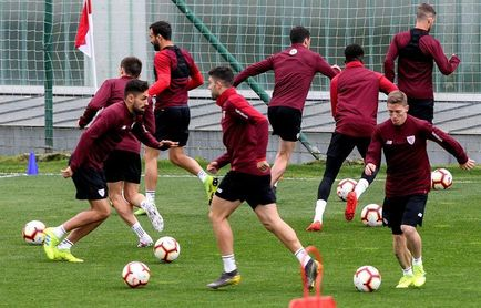 El Athletic regresa al trabajo con las bajas de los lesionados Ibai y Capa
