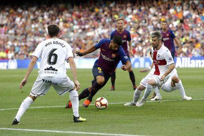 El Barça cierra su semana mágica ante el colista, la emoción está en Sevilla