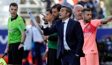 """Valverde: """"No ha sido un partido brillante pero sí disputado"""""""