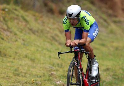 El colombiano Vargas gana etapa contrarreloj y lidera la Vuelta a Uruguay