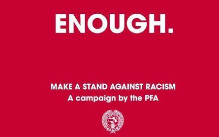Los futbolistas boicotean las redes sociales para luchar contra el racismo