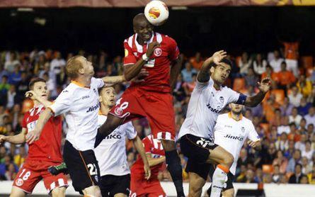 El gol de M'Bia cambió la carrera de Unai Emery.