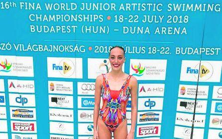 La sevillana Paula García vuelve a la selección de natación artística