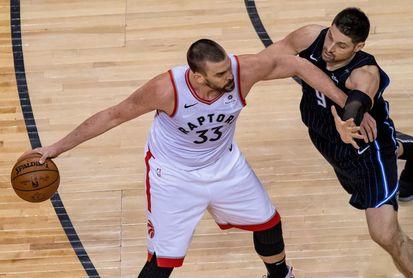 93-98. Siakam salva a Raptors, que recuperan ventaja de campo