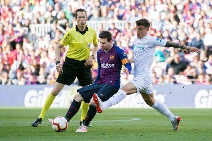 2-0. El Barça se redime de Anfield y saca al Getafe de puestos 'Champions'