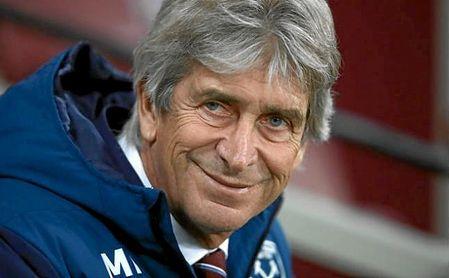 Manuel Pellegrini, entrenador del West Ham.