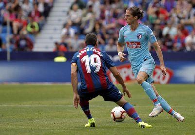 """El Atlético aún está """"hablando"""" con Filipe """"para decidir lo mejor para todos"""""""