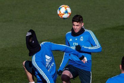 """Valverde, sobre su futuro: """"Zidane me ha demostrado mucha confianza"""""""