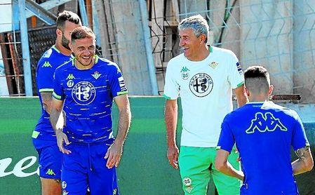 Joaquín y Setién han tenido una relación especial en el Betis.