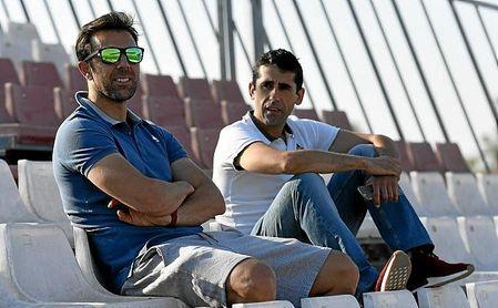 Marchena y Gallardo optan al banquillo del Sevilla Atletico.