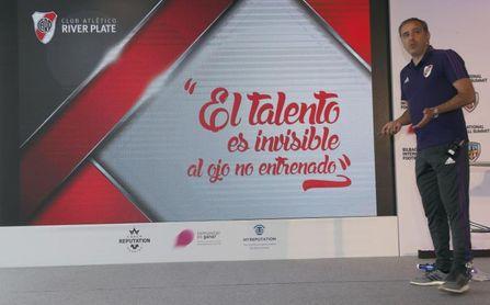 """""""Técnica individual por encima"""" de todo en el método del River Plate"""