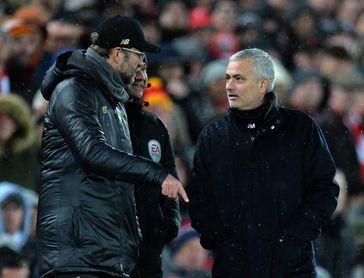 """Mourinho, sobre Klopp: """"Perder tres finales de Champions sería muy duro"""""""