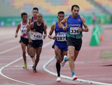 El ecuatoriano Byron Piedra revalida el título sudamericano en 10.000 metros