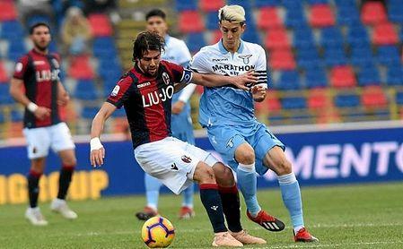 Luis Alberto, en un partido con la Lazio.