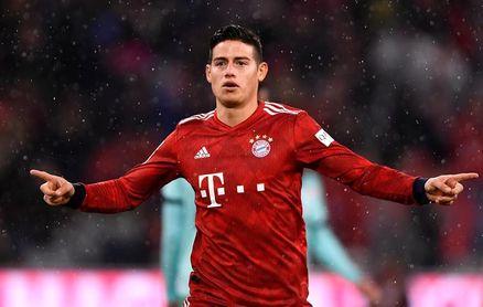"""El Bayern ha decidido no hacer uso de opción sobre James, según """"Kicker"""""""