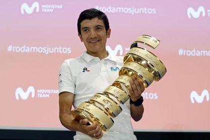 """Carapaz: """"Si me piden que vaya al Tour, no iré, pero estaré en la Vuelta"""""""