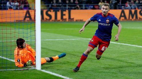 Chalov, opción para el ataque del Sevilla