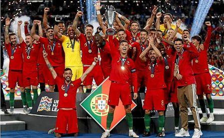 William Carvalho se coronó campeón de la UEFA Nations League