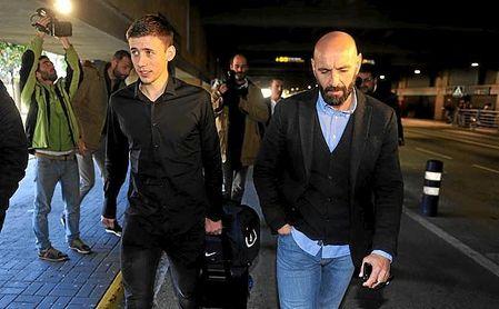 Monchi, el día que por fin pudo traer a Lenglet a Sevilla.