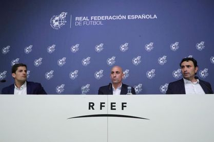 """Rubiales: """"Luis Enrique se ha portado de 10; no tenemos ningún reproche"""""""