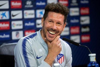 Simeone: El Atlético siempre ha incorporado jugadores para desarrollarlos
