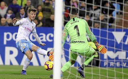 Gual no ha brillado como esperaba en el Real Zaragoza.