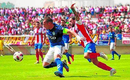 Imagen del Algeciras-Socuéllamos que finalizó 4-0.