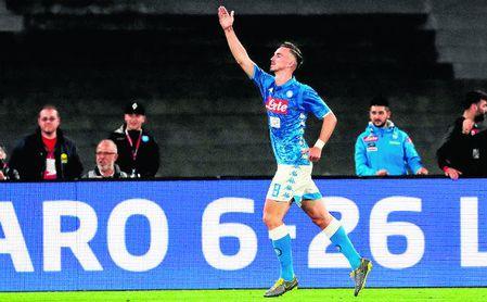 Fabián ha completado una gran temporada en el Nápoles.