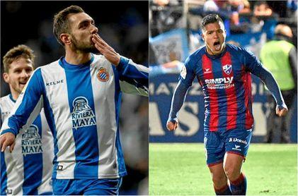 Borja Iglesias y el 'Cucho' Hernández, objetivos del Betis.