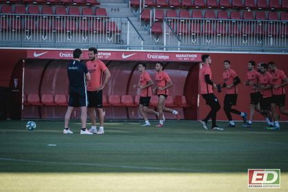 "Franco Vázquez: ""Queremos tener la pelota sin ser cansinos"""