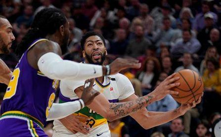 Davis se presenta sin el No.23, con James y convencido que Lakers ganarán