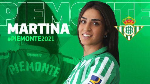 Martina Piemonte, tercer fichaje del Real Betis Féminas para la próxima temporada