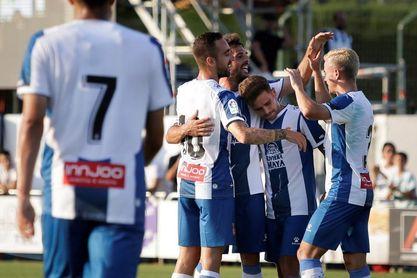 0-6. El Espanyol asimila automatismos en su primer amistoso ante el Peralada