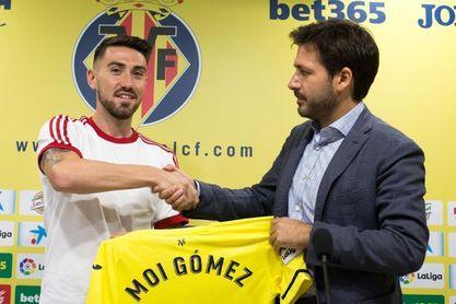 """Moi Gómez: """"El Villarreal es el club de mi vida"""""""