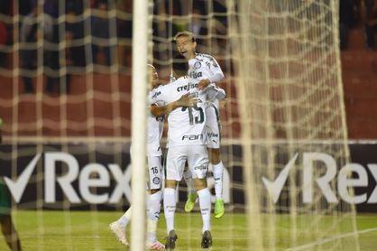 Palmeiras se concentra en la Liga tras su eliminación en la Copa de Brasil