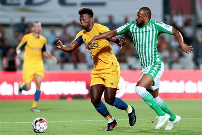El Betis cae con el Oporto en los penaltis en la Copa Ibérica