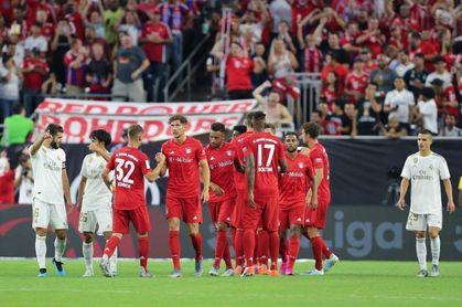 3-1. Exhibición y goleada del Bayern en un pobre debut del nuevo Real Madrid