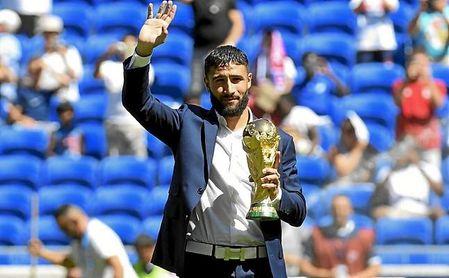 Fekir se proclamó campeón del mundo con Francia, en Rusia 2018.