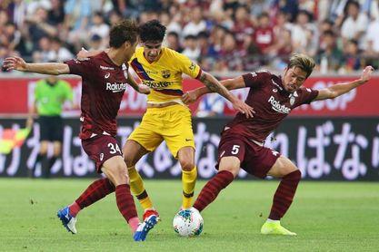 """Sergi Roberto: """"Tener hueco en el centro del campo es un reto muy difícil"""""""