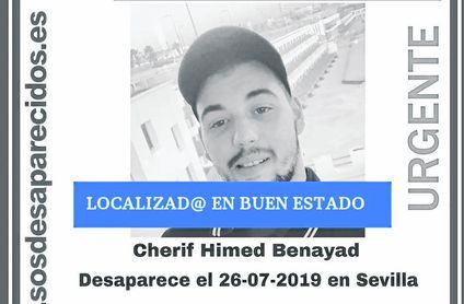 Localizado el joven desaparecido