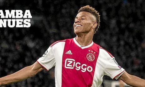 El brasileño David Neres amplía su contrato con el Ajax hasta 2023