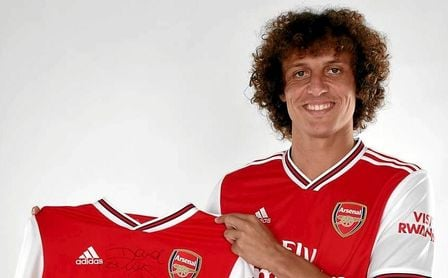 El Arsenal ficha al central brasileño David Luiz