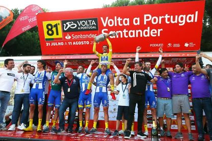 Victoria final de João Rodrigues tras ganar la crono final de la Vuelta a Portugal