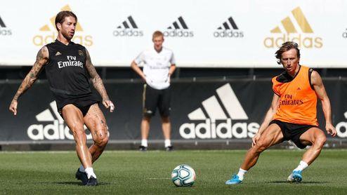 El Real Madrid entrena sin Bale y sin Keylor