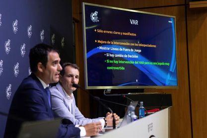"""Velasco Carballo: """"Mi objetivo es que el VAR no sea necesario"""""""