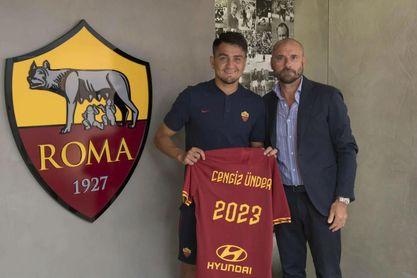 El Roma prolonga hasta 2023 el contrato de Under, talento fichado por Monchi